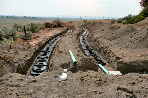 GTO Gravity Vault Low Rise Trench Drainfield